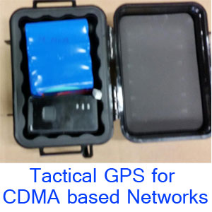 Tactical GPS Tracker for CDMA