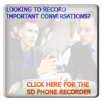 SD Phone Recorder